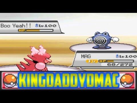 Pokemon Wifi Battle KingDaddyDMAC vs RevX1600 [4th Gen NFE]