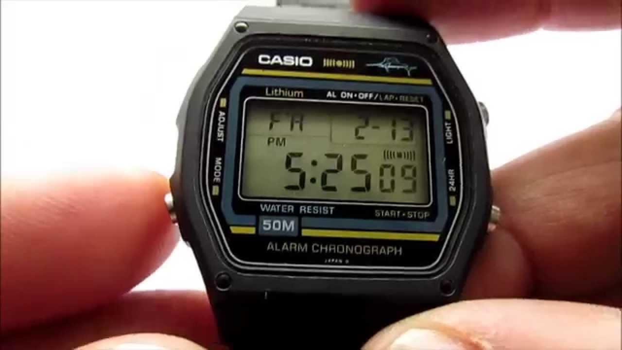 Casio Marlin W-24-A Digital Watch