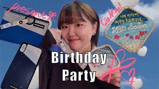 [소복로그] 친구 생일…