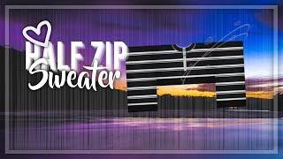 Design della velocità di Roblox Maglione Half zip (Super Cute!)