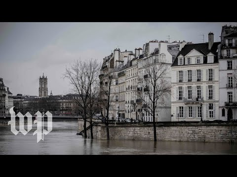 Paris watches as Seine River water levels rise