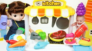 Baby doll cooking Cart kitchen…