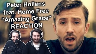 34 Peter Hollens Feat Home Free Amazing Grace 34 Reaction
