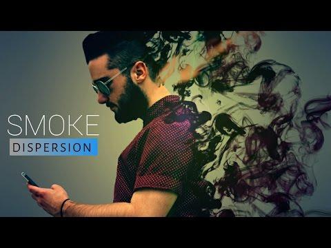 New Dark Black Dispersion Smoke Tutorial  Picsart Smoke