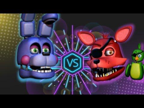 ROCKSTAR FOXY VS ROCKSTAR BONNIE ⭐️ La Liga de FNAF | FNAF ULTIMATE CUSTOM NIGHT - Final thumbnail