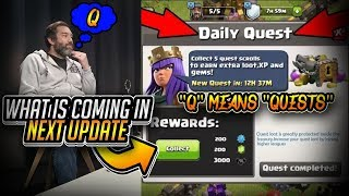 (Coc Q&A 2 Hindi)Q Means Quests! Quests is Coming In December Update(Clash Of Clans)