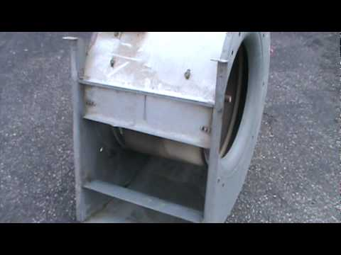 Blower fan from old furnace youtube for Lennox furnace blower motor not working