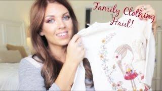 ❤ Family Clothing Haul ❤ Thumbnail