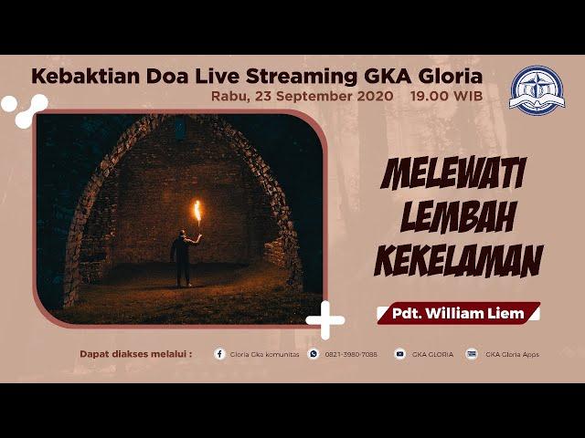 Kebaktian Doa Rabu Live Streaming - Pdt. William Liem - 23 September 2020