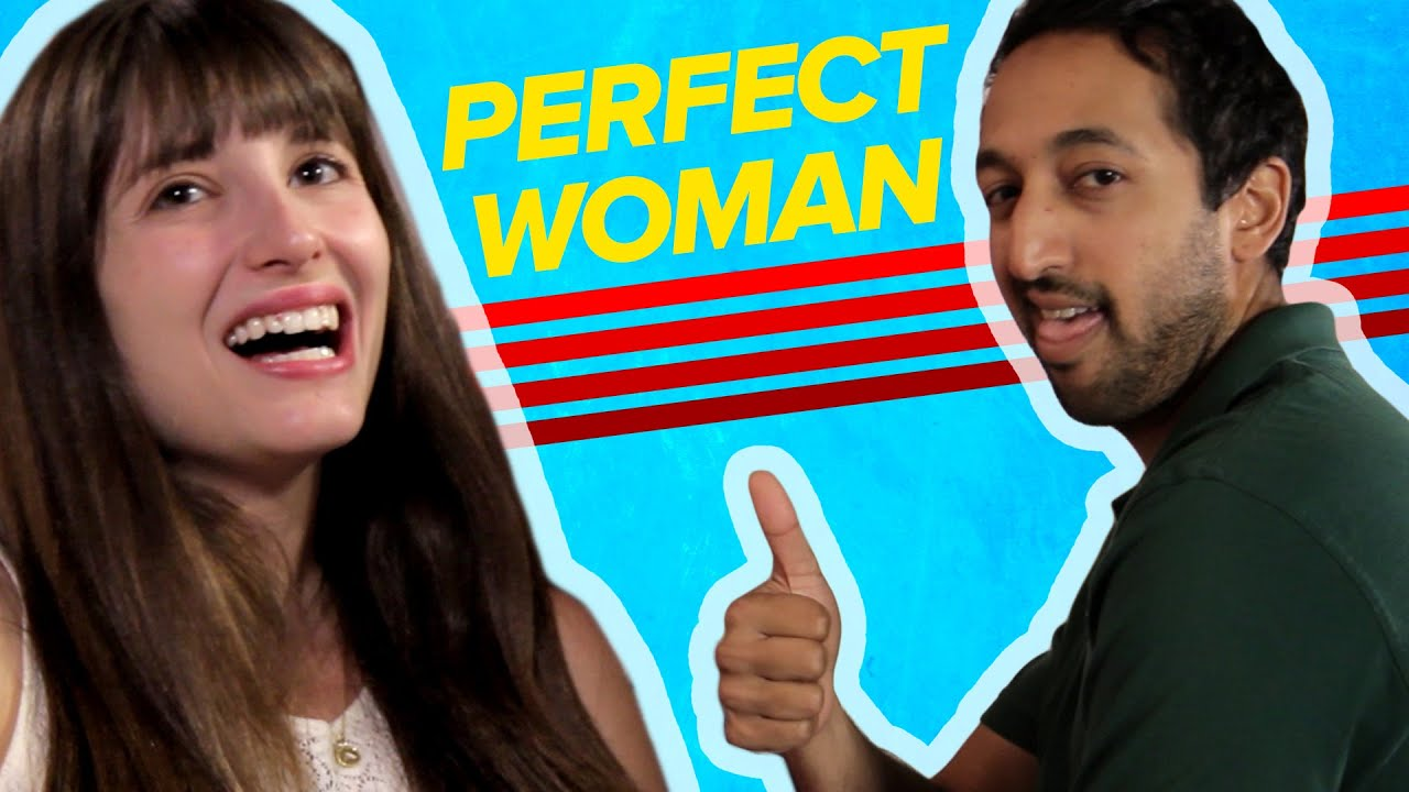 the perfect woman according to men