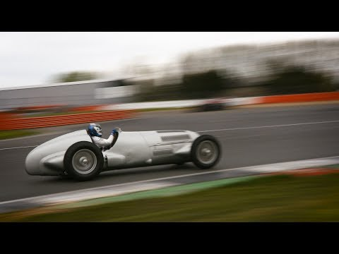 Valtteri Drives The Classic Mercedes W125 From 1937!