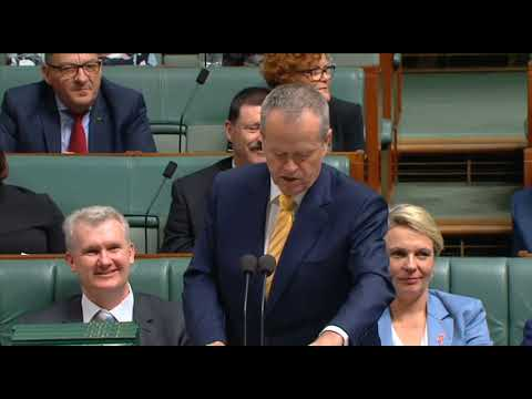 This Government are a part-time parliament; they don't want to work - BILL SHORTEN