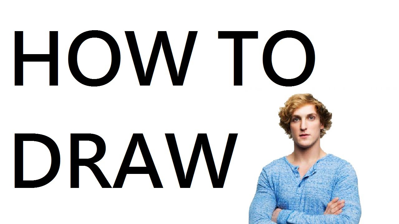 How To Draw Logan Paul
