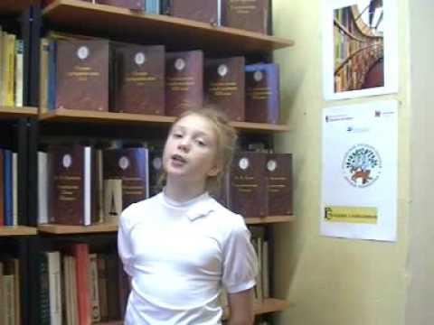 Изображение предпросмотра прочтения – УльянаСавельева читает произведение «Листья (Пусть сосны иели…)» Ф.И.Тютчева