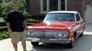 1964 Plymouth Sport Fury Convertible Classic Muscle Car for Sale in MI Vanguard Motor Sales