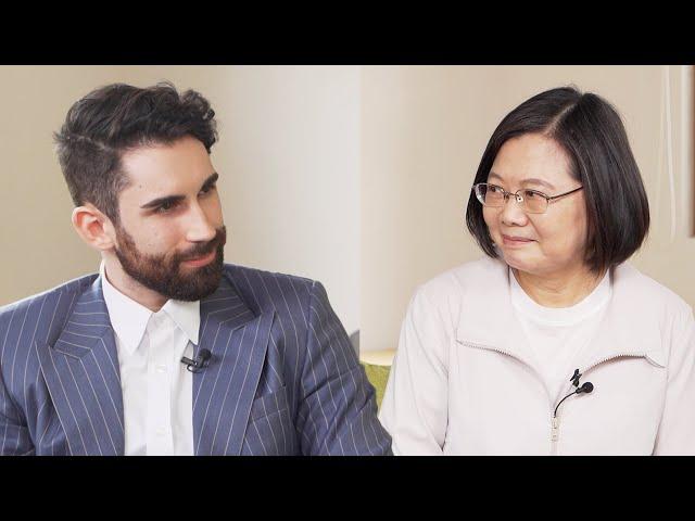 法國YouTuber訪問台灣總統🇹🇼🇫🇷台灣是否還想加入WHO?