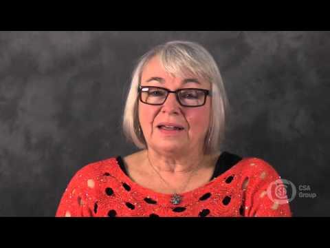 Sue Lafferty - CSA Group 2014 John Jenkins Award Winner