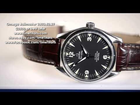 Swiss Omega Seamaster Railmaster Watches