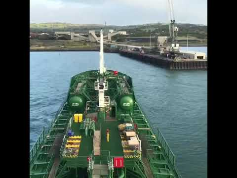 Thun Gothenburg arriving at Kilroot