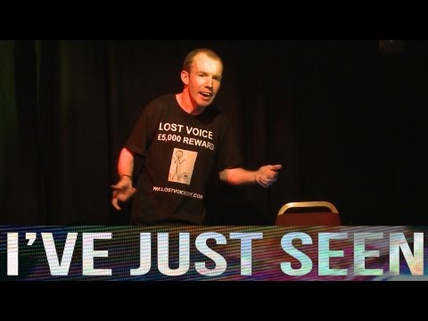 Interview: Lost Voice Guy at Edinburgh Fringe 2013 - The stand-up comic who can't speak