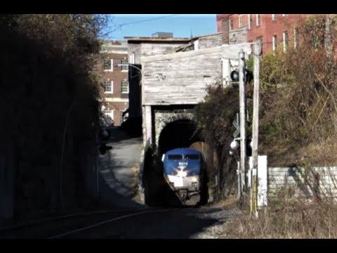"""The Vermonter in November"" Bellows Falls, Vermont"