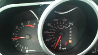 Mazda CX 7 Accelerating