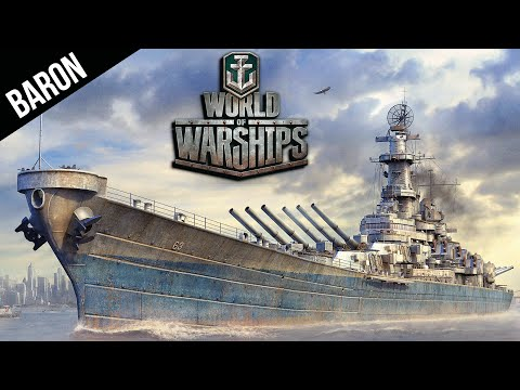 World of Warships American Battleships!  WOWS Patch 0.3.1 Battleships Preview
