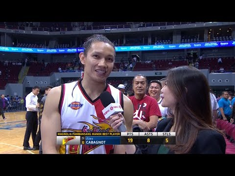 Best Player: Alex Cabagnot | PBA Philippine Cup 2018