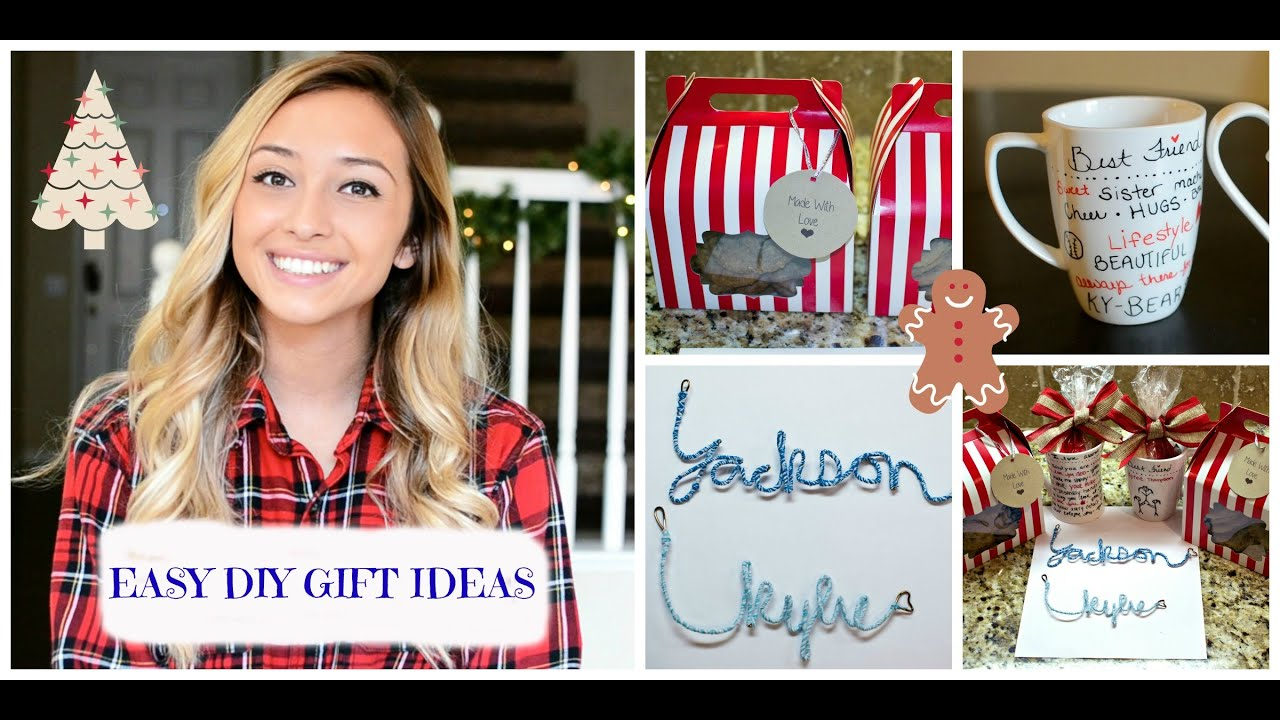 easy diy christmas gift ideas 2014 for your boyfriend or friends youtube