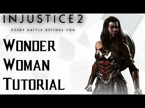 Injustice 2 Wonder Woman Tutorial: Creating Pressure and opening up your opponent.