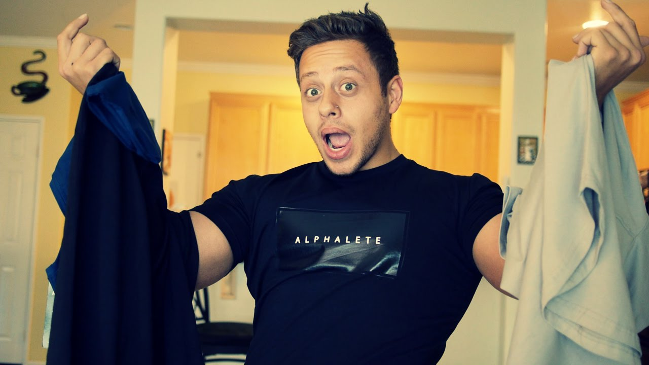 Alphalete Lifestyle Clothing Review | T SHIRT TIME! - YouTube