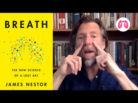 Interview with author James Nestor | Breath –  The New Science of a Lost Art | TAKE A DEEP BREATH