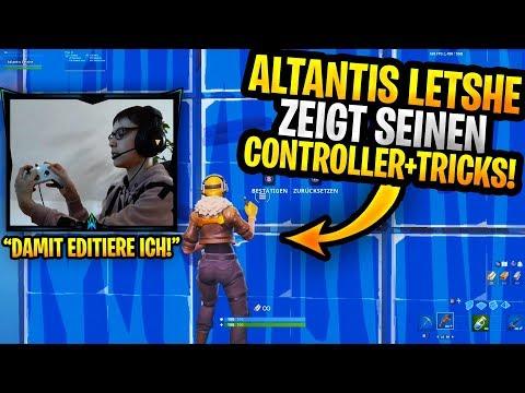 Atlantis Letshe ZEIGT seinen Controller+Settings | Ghost Issa im Finale????| Airconsole die BESTE Ap