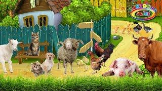 ЗВУКИ ЖИВОТНЫХ для самых маленьких / Обучающее видео для детей – как говорят животные