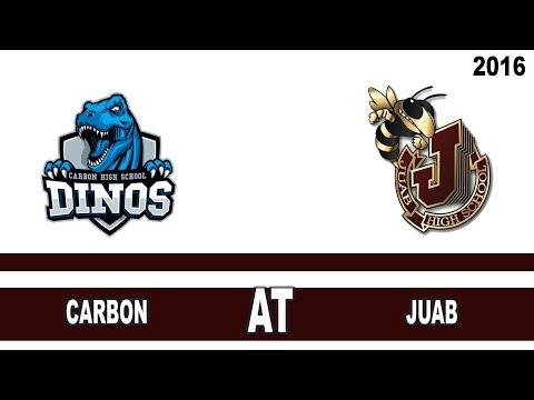 Boys Basketball: Carbon at Juab High School Utah 2016