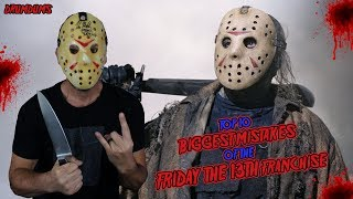 Top 10 Biggest Mistakes of the FRIDAY THE 13TH Franchise | Never Hike Alone in the Snow Indigogo!