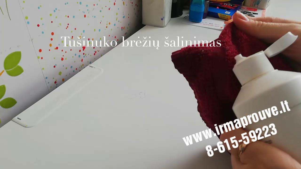 kaip pašalinti balno maišelių riebalus)