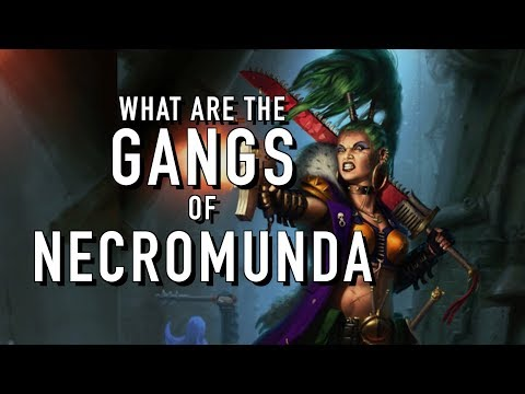 40 Facts and Lore on the Gangs of Necromunda Warhammer 40K
