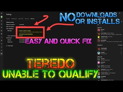 TRY THIS FIRST - Xbox App Issues- Teredo Is Unable To Qualify