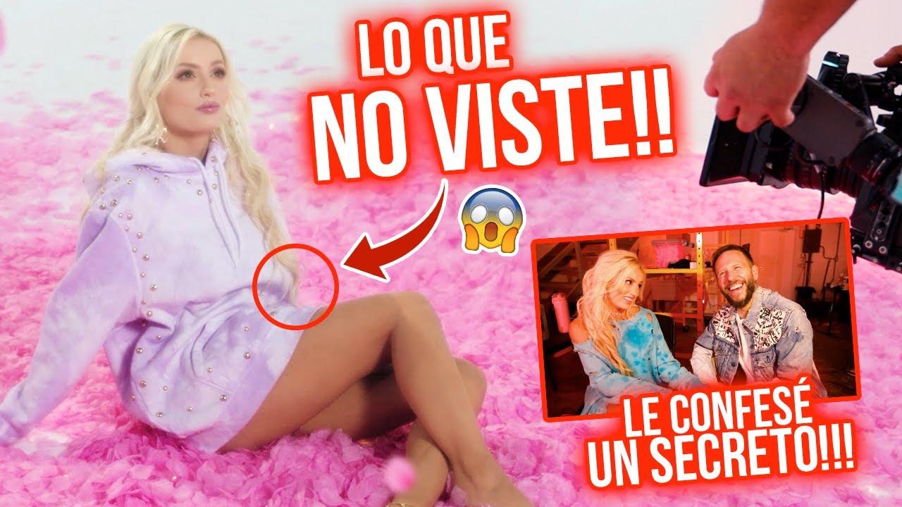 NUNCA LO CONTÉ Y ESTO PASÓ EN LA GRABACIÓN DEL VIDEOCLIP DE TAN PERFECTO   Katie Angel