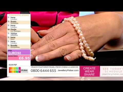 How to Make Beaded Jewellery: JewelleryMaker LIVE 18/09/2014