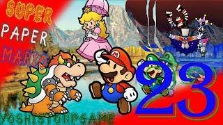 El Boss Calamar Gigante【Super Paper Mario】Ep.23