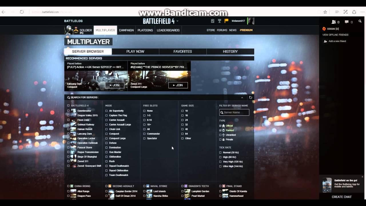 Хостинг серверов battlefield 4 хостинг master