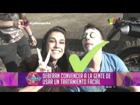 """La Revancha Prime Time 07/09 - Cynthia prueba """"Dia de Spa"""" Gran Hermano 2016"""