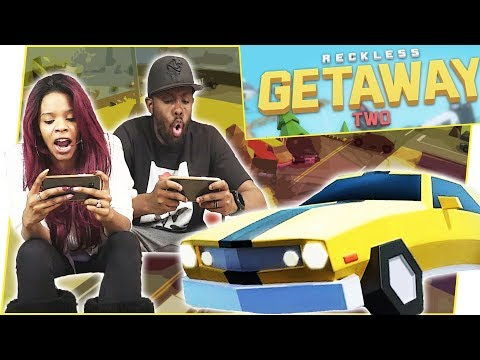 THE COPS ARE AFTER US! MY WIFE ATTACKED ME! - Reckless Getaway Two Gameplay   Mobile Series Ep.36