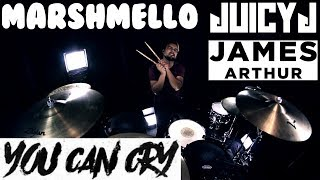 Marshmello x Juicy J - You Can Cry (Ft. James Arthur) (Drum Remix)