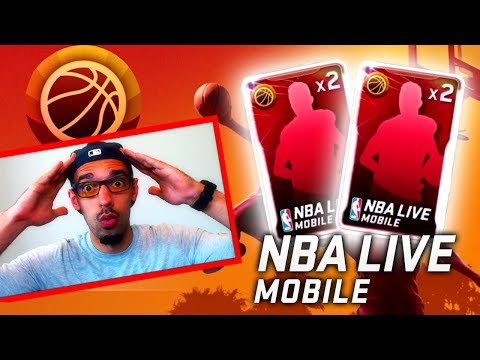 NBA Live Mobile SUMMER COURT UPDATE! PACK OPENINGS, SETS & GAMEPLAY! (NBA Live Mobile Gameplay)