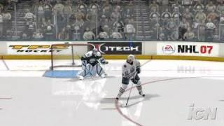 NHL 07 Xbox 360 Gameplay - Shootout