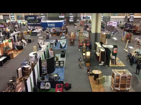 NWFA Expo 2016, Charlotte, NC. Prior to opening of Tradeshow Floor.
