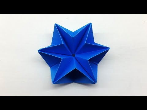 How To Make a Modular Origami Star | Easy Paper Star Making Tutorial